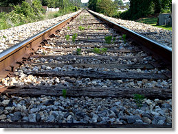 Perceptions in Photography Railroad Track Example